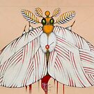 bride moth (original sold)) by federico cortese