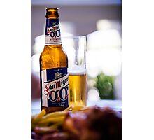 Siesta Time. Beer San Miguel Photographic Print