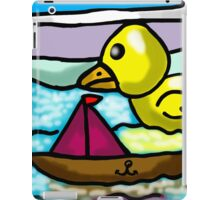 BATH TIME  FUN  iPad Case/Skin