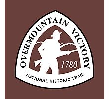 Overmountain Victory Trail Sign, USA Photographic Print