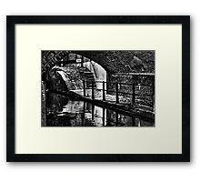 Lock 83 Ancoats,Rochdale Canal Framed Print
