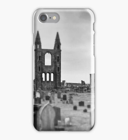 St Andrews Cathedral Ruins iPhone Case/Skin
