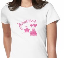 Cute Princess Womens Fitted T-Shirt