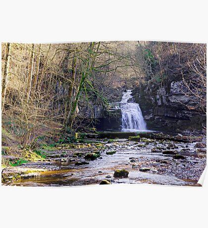 Cauldron Falls, West Burton, Bishopdale, Yorkshire Dales Poster