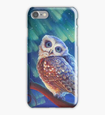 Aurora Owl iPhone Case/Skin
