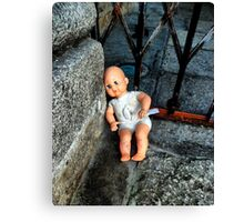 Abandoned doll Canvas Print