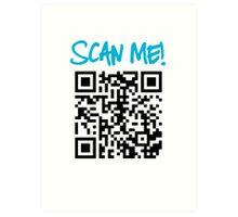 Scan Me! Art Print