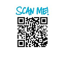 Scan Me! Photographic Print