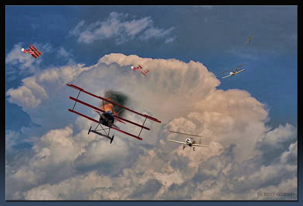 Out of the Clouds by Richard  Gerhard