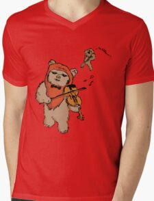 Exquisite Ewok Mens V-Neck T-Shirt