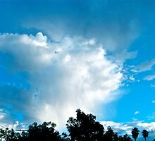 Clouds over Los Angeles by Christine Chase Cooper