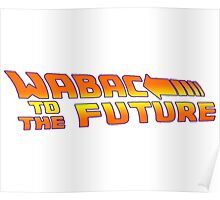 WABAC TO THE FUTURE Poster