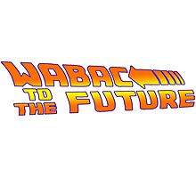 WABAC TO THE FUTURE Photographic Print