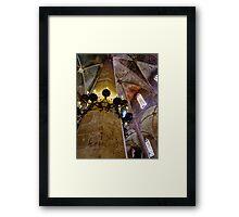 Columna - La Seu - Palma de Mallorca - HDR Framed Print
