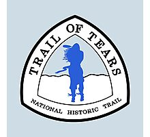 Trail of Tears Trail Sign, USA Photographic Print
