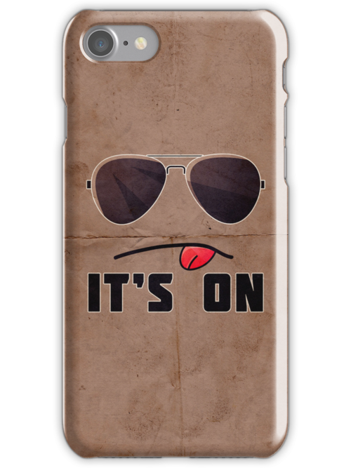 'It's On' iPhone/iPod case by samdesigns