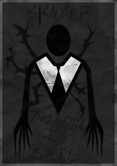 'Slender' poster by samdesigns