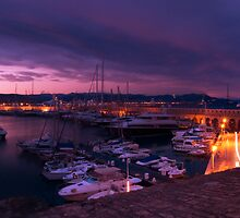 Port of Antibes Panoramic  by Jim Hellier