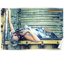 steampunk foil Poster