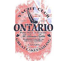 Ontario Sailing Photographic Print