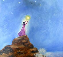 Reaching for the stars by Ana Murillo