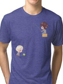Chibi Drarry - Fishing Tri-blend T-Shirt