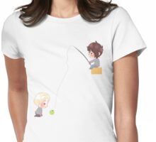 Chibi Drarry - Fishing Womens Fitted T-Shirt