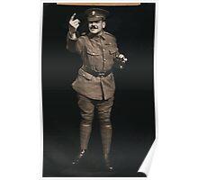 Soldier beckoning 851 Poster