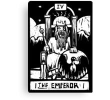 The Emperor - Tarot Cards - Major Arcana Canvas Print
