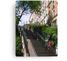 Stairs, Montmartre Canvas Print