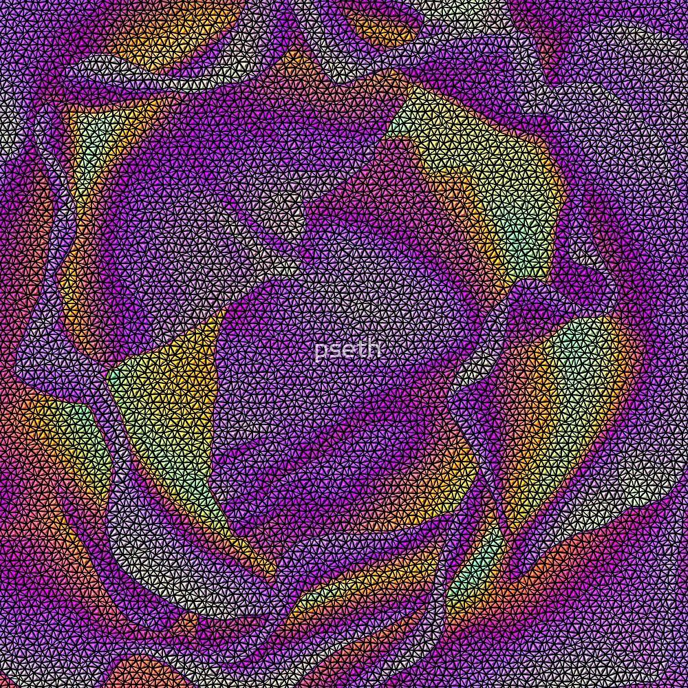 Rose Bud Art Work by pseth