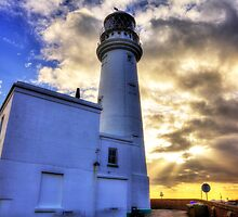 Flamborough Head Lighthouse Yorkshire by Paul Thompson Photography