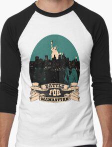 battle for manhattan Men's Baseball ¾ T-Shirt