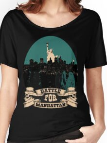 battle for manhattan Women's Relaxed Fit T-Shirt
