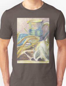 Skull & Pitcher Color Pencil & Water colour Unisex T-Shirt