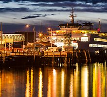 Washington State Ferry, Puyallup by Jim Stiles
