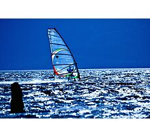 Windsurfing - Colour Photographic Print