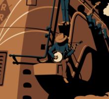 Steam Engine Jam Sticker