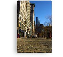 Cobble Stones - Union Square West Canvas Print