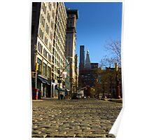 Cobble Stones - Union Square West Poster
