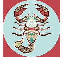 The Scorpion of Scorpio Photographic Print