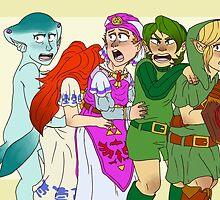 Legend of Zelda: Young Heroes by ArtyHylian