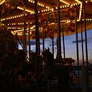 Carousel by night by Asrais
