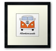 Adventure Campervan Framed Print