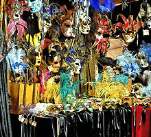 Venetian Masks by pseth