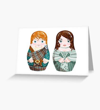 Jamie and Clair (wedding) Greeting Card