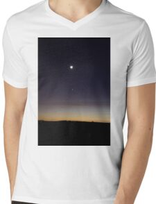 Night Mens V-Neck T-Shirt
