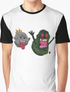 King Boo and Slimer Graphic T-Shirt