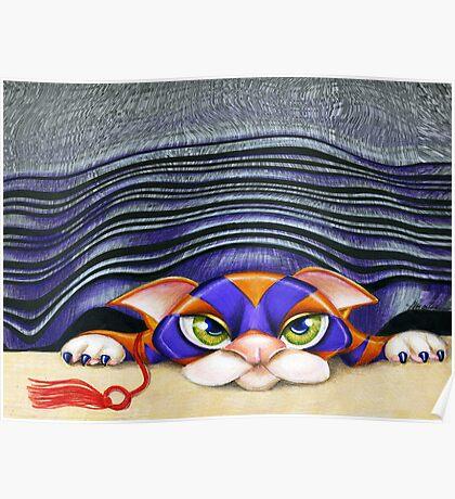 Cat Shades Poster