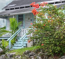 Wooden House on Montrose Avenue in Nassau, The Bahamas by 242Digital